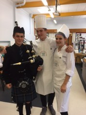 Piper and chefs