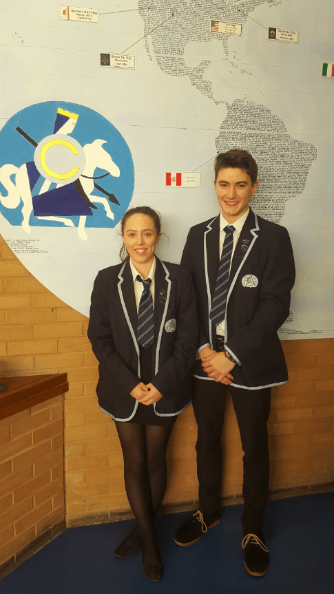 Pupil of the year nominations - Grace Bird & Jacob Hodgson