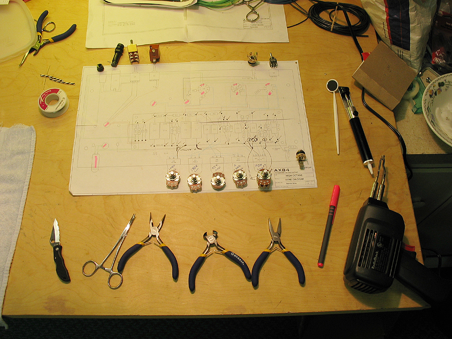 Circuit Board Construction For Ax84 High Octane Single Ended Amplifier