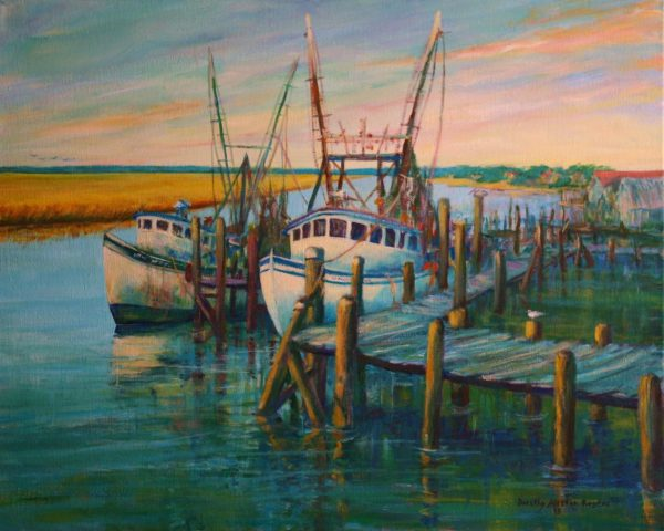 Dorothy Rogers February 2017 Featured Artist Chaleston Guild