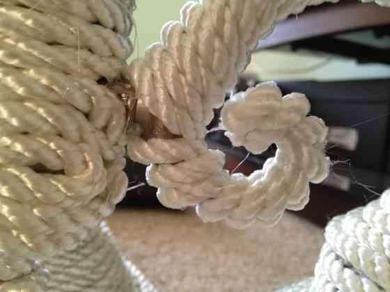 DIY Nautical rope Chandelier - Charleston Crafted