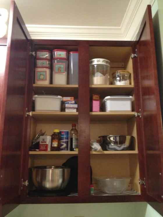 Baking Cabinet Before - Charleston Crafted