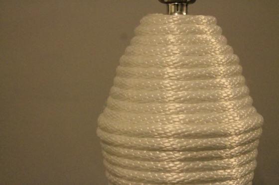 DIY Rope Lamp Upgrade - Charleston Crafted