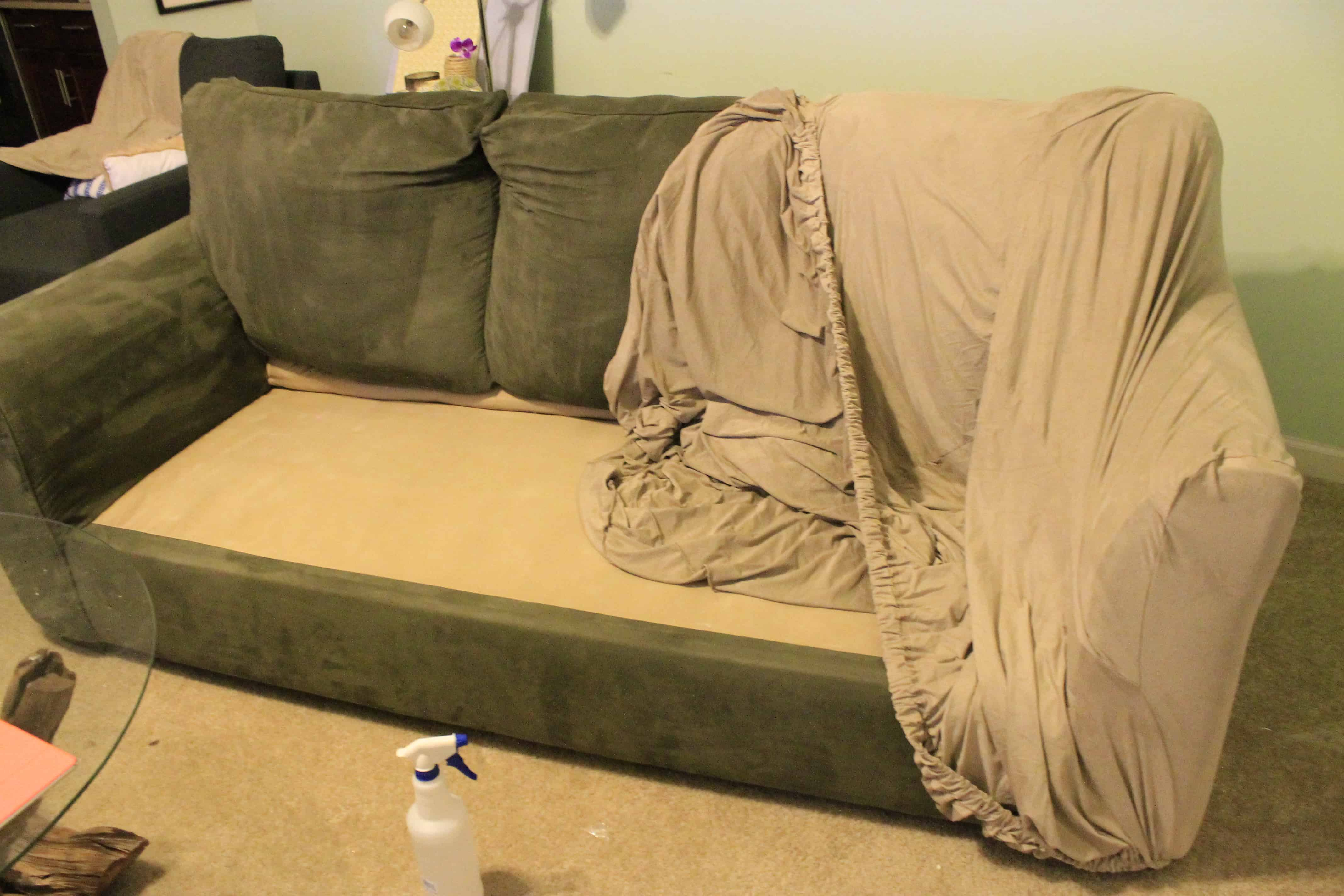 Covering the Couch • Charleston Crafted