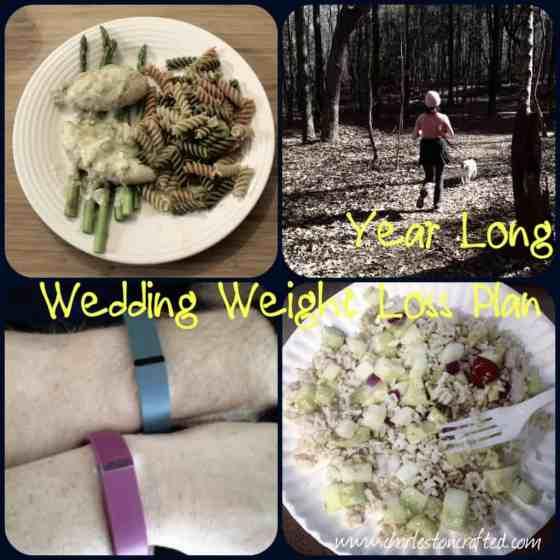 My Wedding Weight Loss Plan • Charleston Crafted
