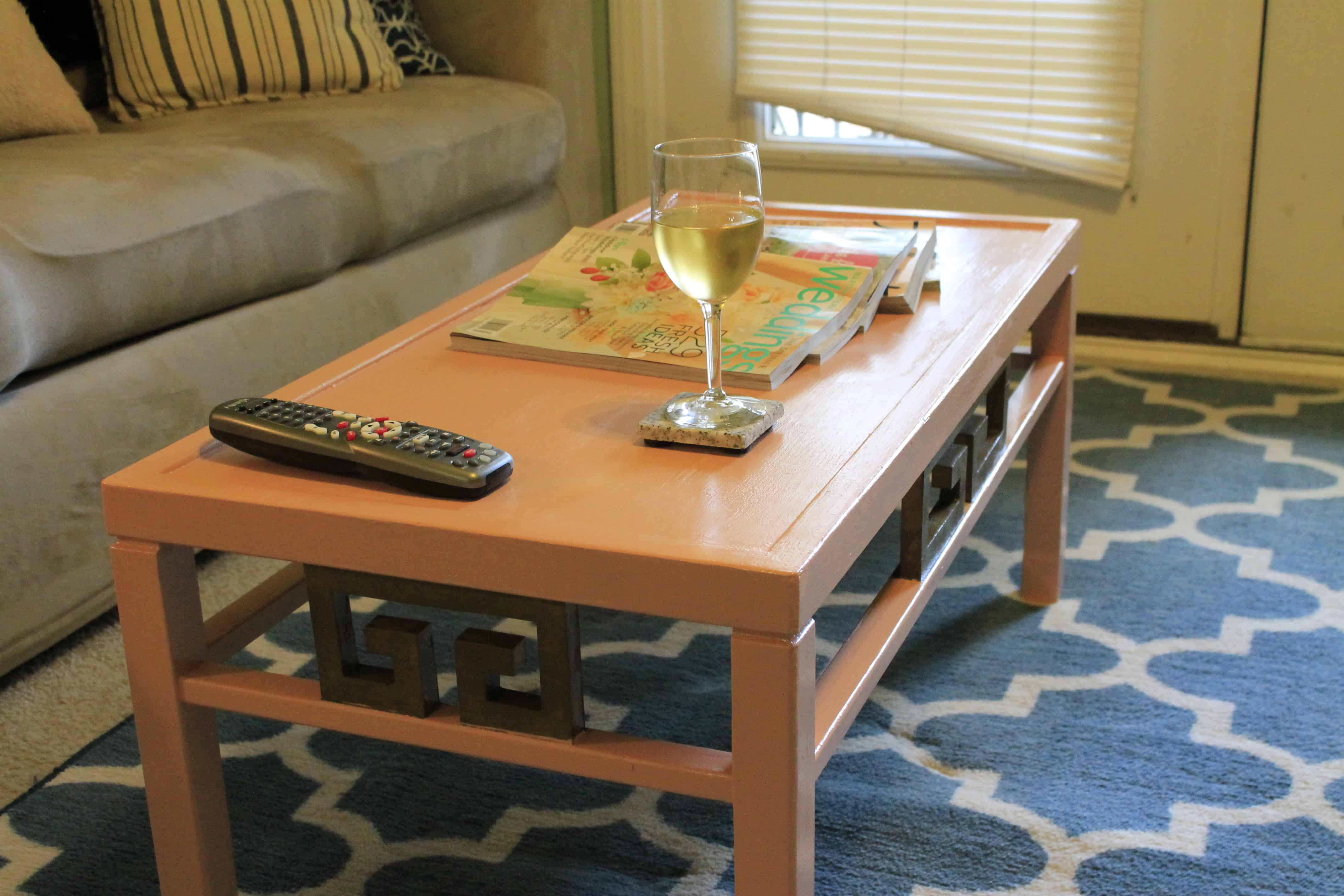 making over an old coffee table • charleston crafted