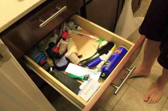 Organizing Three Cabinets - Charleston Crafted