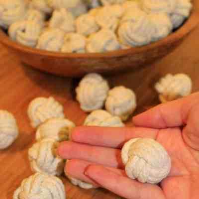 Mini Decorative Monkey Fist Knot Balls