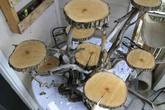 Driftwood Cake Display - Charleston Crafted