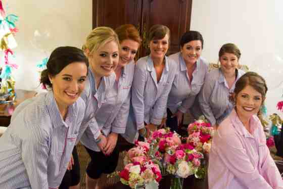 The Bridesmaids Get Ready - Charleston Crafted