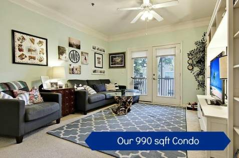 Tour Our 990 square foot Condo - Charleston Crafted
