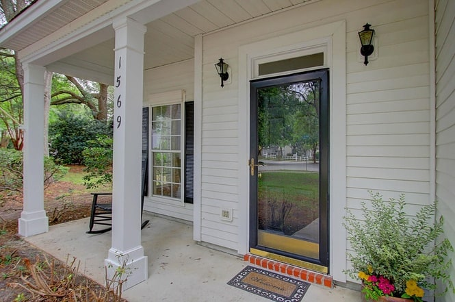 initial front porch - Charleston Crafted