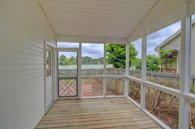 initial screened porch - charleston crafted