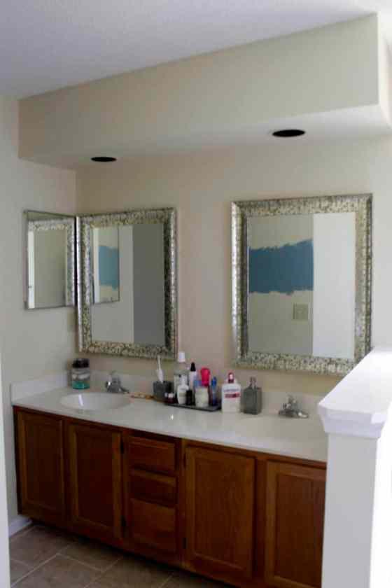 Master Bathroom Before - Charleston Crafted