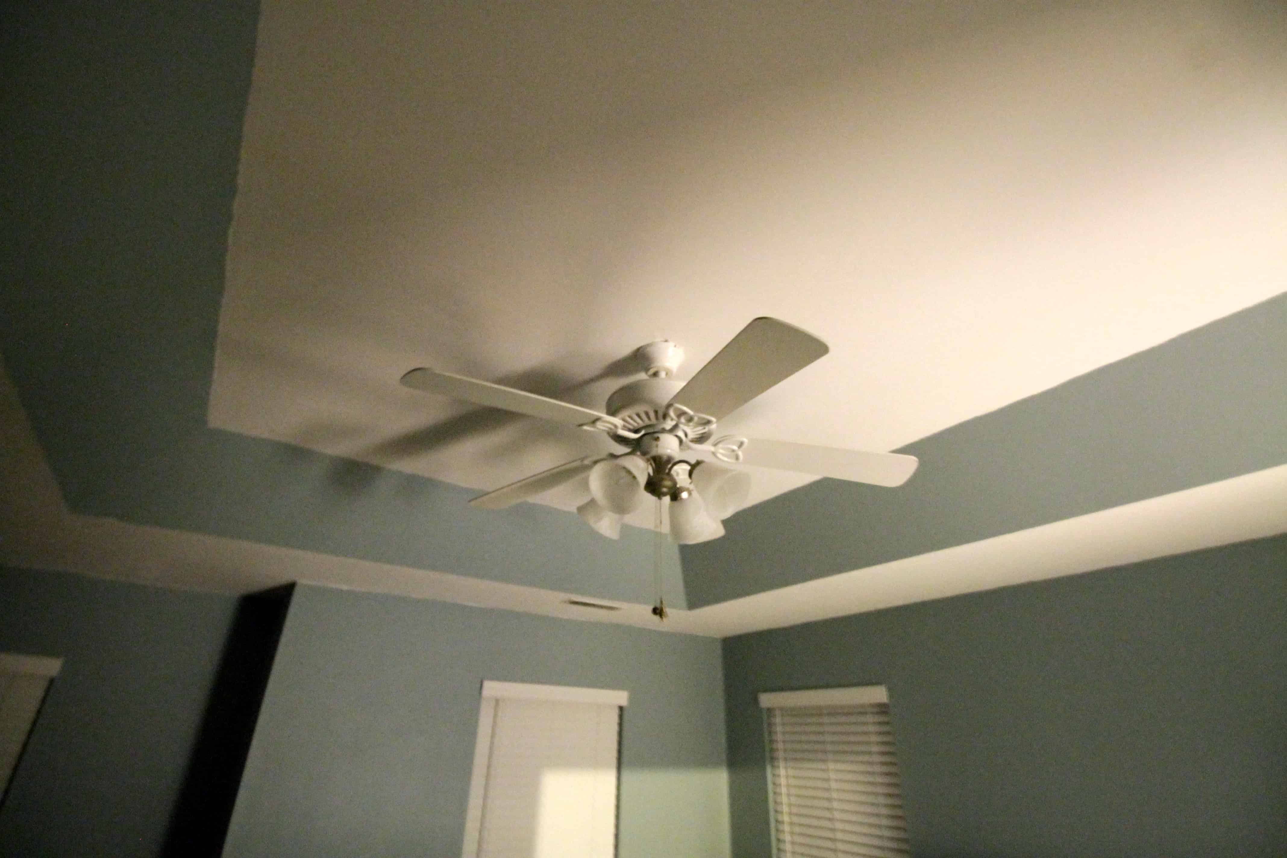 Updating a Standard Ceiling Fan • Charleston Crafted