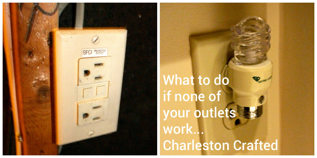 What to do if None of your Bathroom Outlets Work • Charleston Crafted