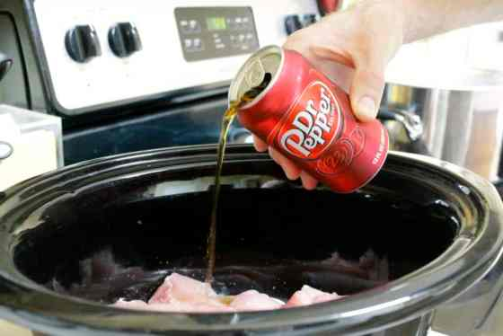 Nachos with Dr Pepper® Pulled Pork - Charleston Crafted