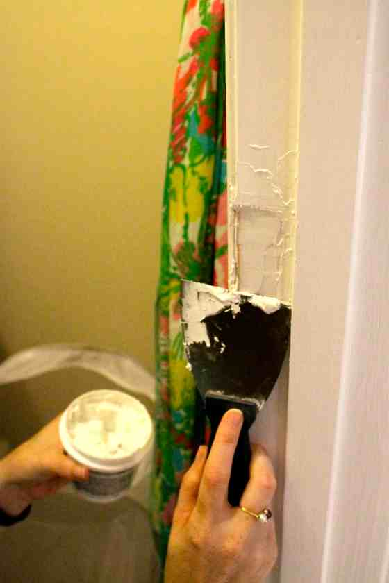 How to Repair a Door Jamb After Removing the Door - Charleston Crafted
