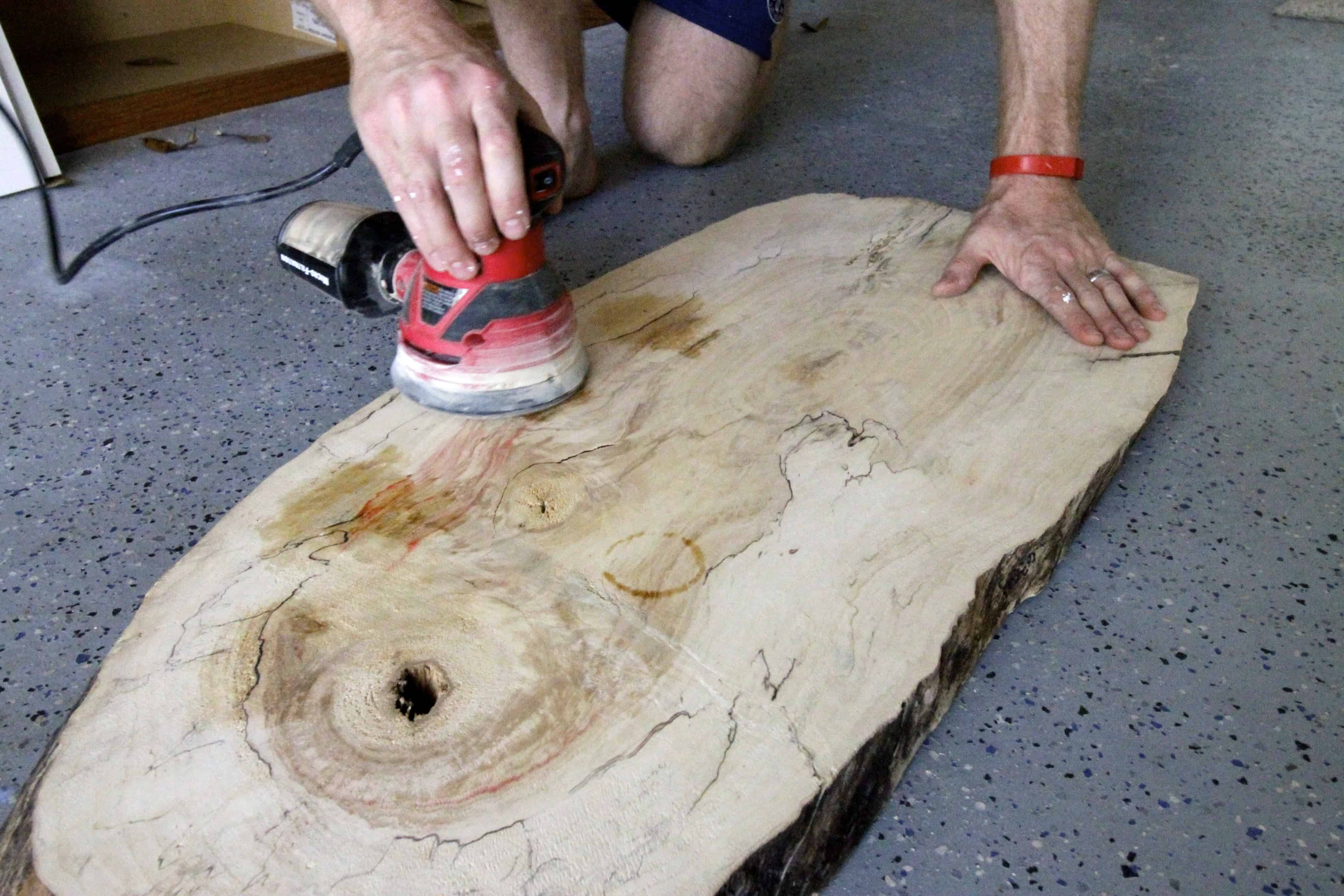 How To Make A Wood Slab Table Warm Home Design