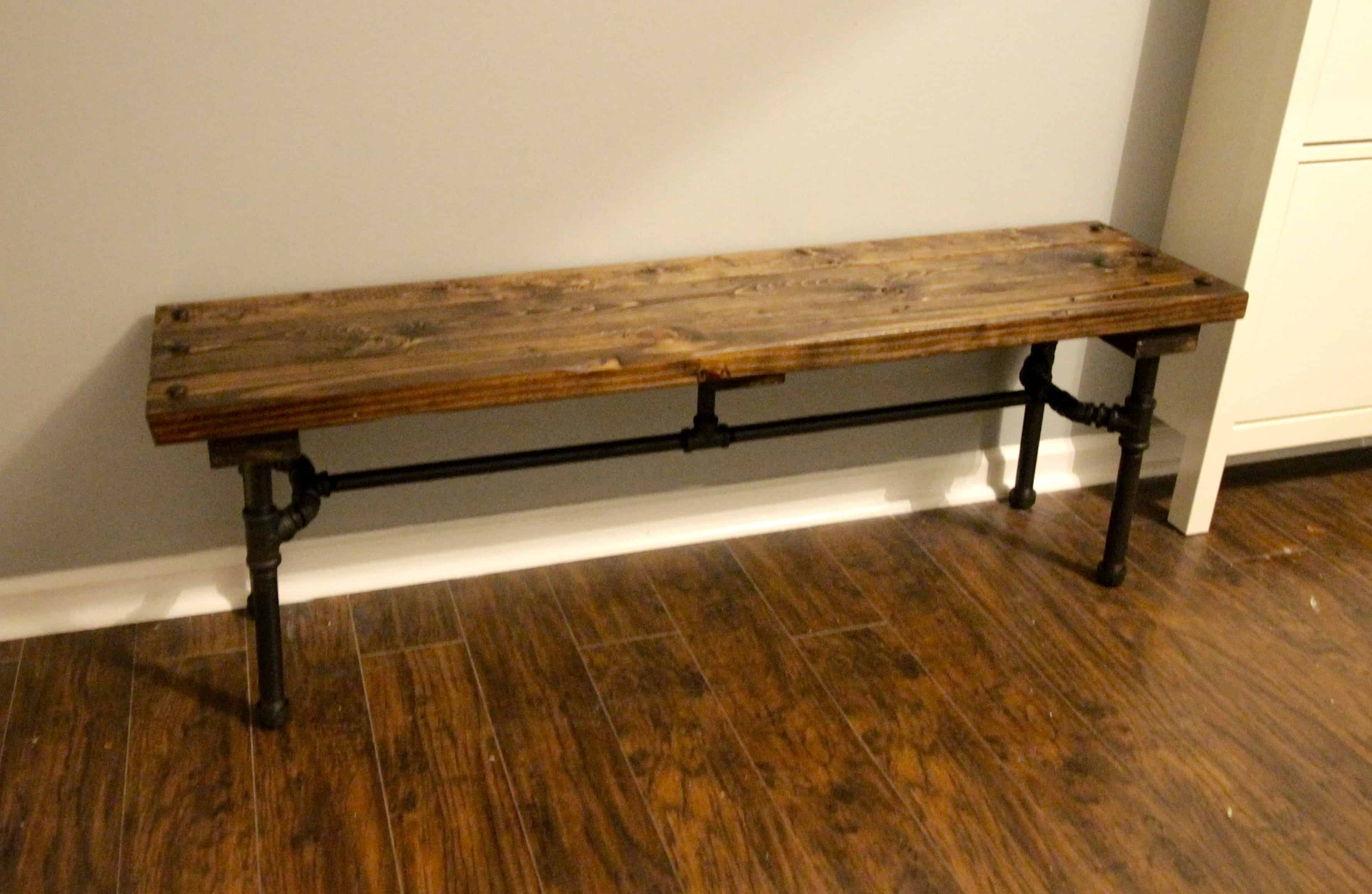 Orc Week 5 Diy Industrial Pipe Bench Charleston Crafted