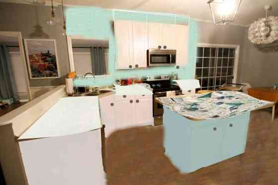 Coastal Kitchen Updates: Option 2 - Charleston Crafted