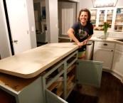 removing laminate countertop