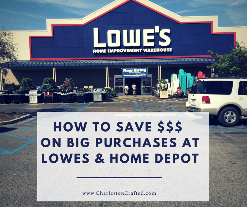 How To Save Money On Large Purchases At Lowes Or Home
