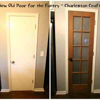 A New Old Door for the Pantry