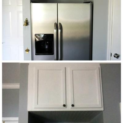 Relocating the Cabinet Above the Fridge