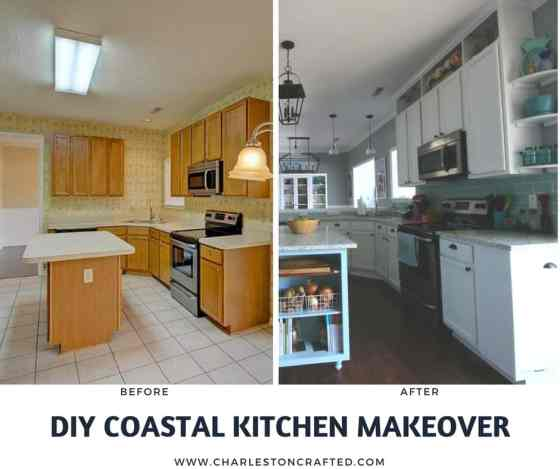 Our DIY Coastal Kitchen Reveal - Charleston Crafted