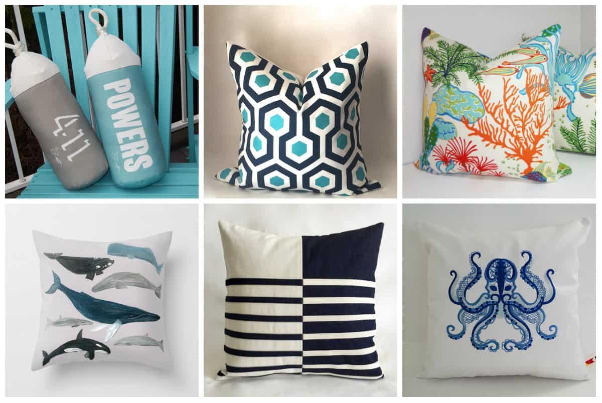 Under $50. Outdoor Pillows ...