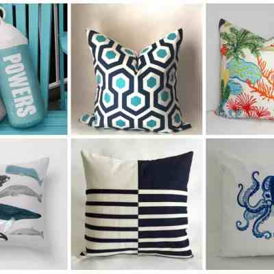Outdoor Pillows at Every Budget (from Etsy!)