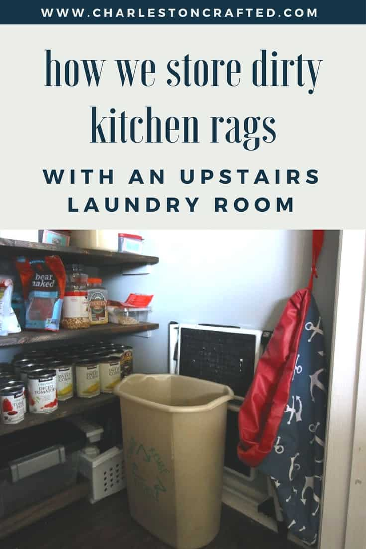 Where Do You Store Wet Kitchen Rags