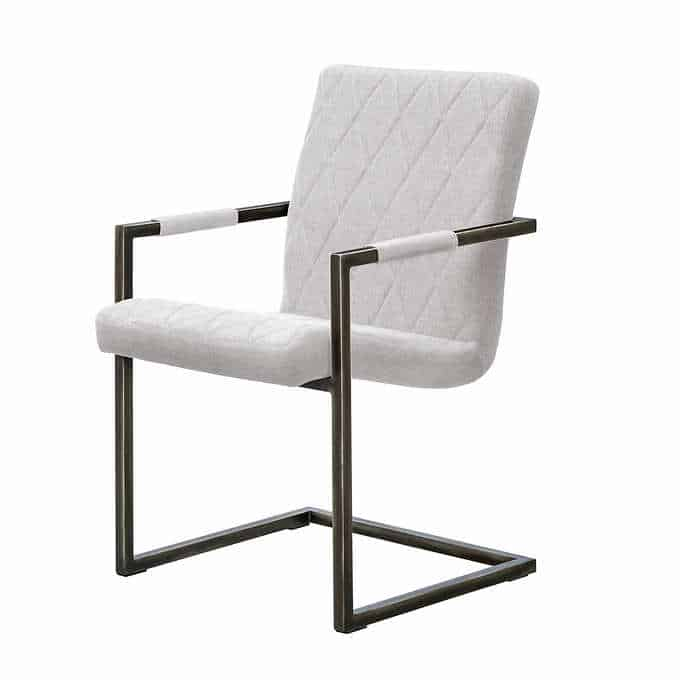 geffrey chair - Gorgeous Dining Room Furniture that you wouldn't believe came from COSTCO! via charleston crafted