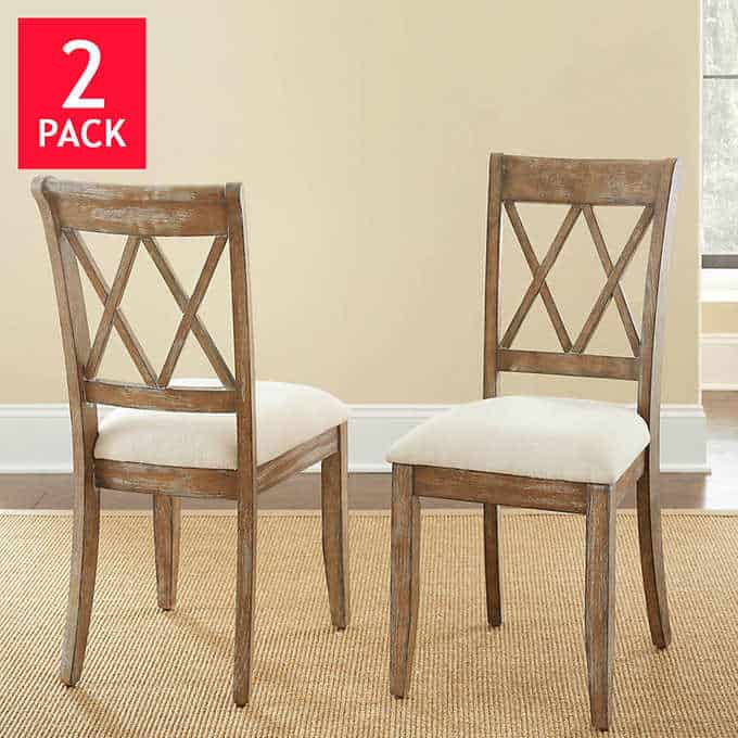 mcclintock dining chair - Gorgeous Dining Room Furniture that you wouldn't believe came from COSTCO! via charleston crafted