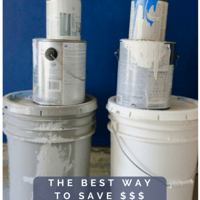 $100 Challenge: The Best Way To Save Money on Paint for your House