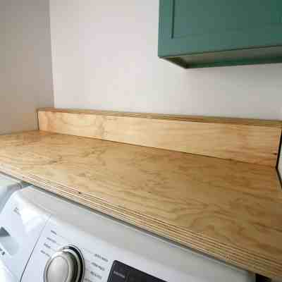 ORC: DIY Plywood Countertop