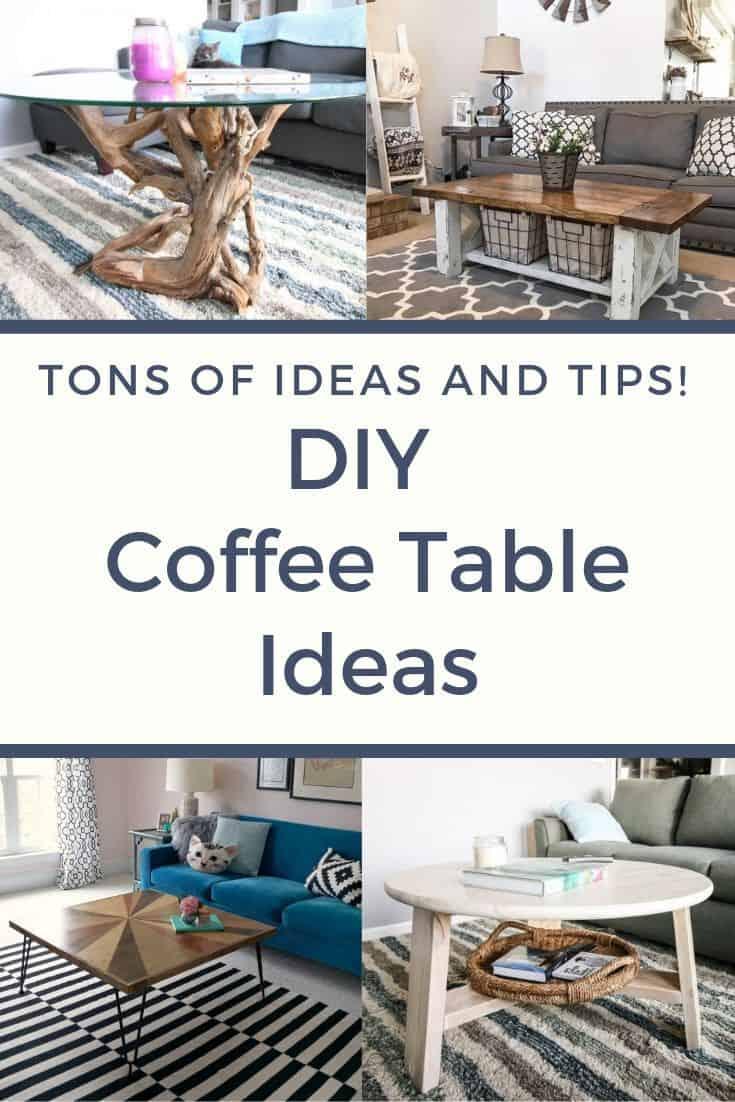 18 diy coffee table ideas