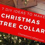 7 Diy Christmas Tree Collar Ideas