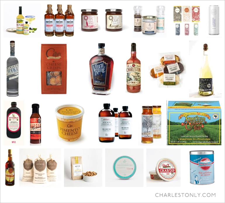 Made in Charleston products
