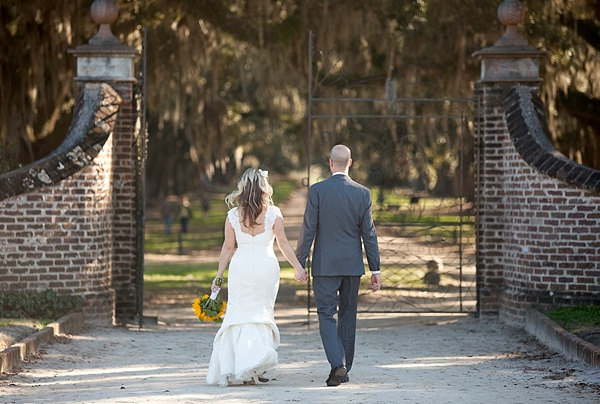 Bryn + Alan | Boone Hall Plantation