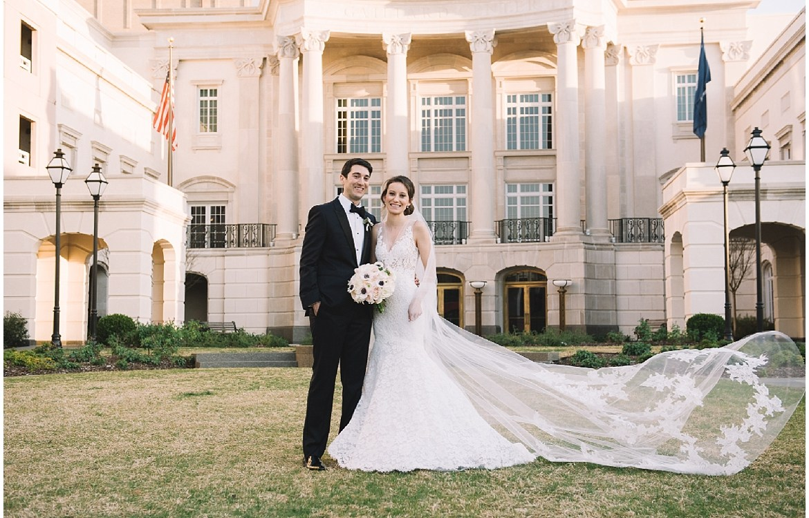 Sarah + Mark: Charleston Gaillard Center