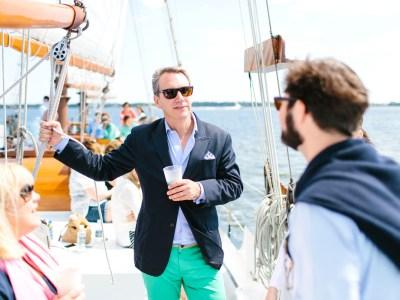 Where + Wear: Set Sail on Charleston Harbor