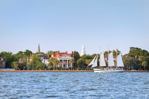 SET SAIL: Soak up some vitamin sea & spot flippered friends during an afternoon sail in Charleston Harbor.