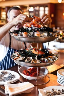 "The Seafood Tower from Hank's Seafood Restaurant is definitely a Charleston ""bucket list"" food experience!"