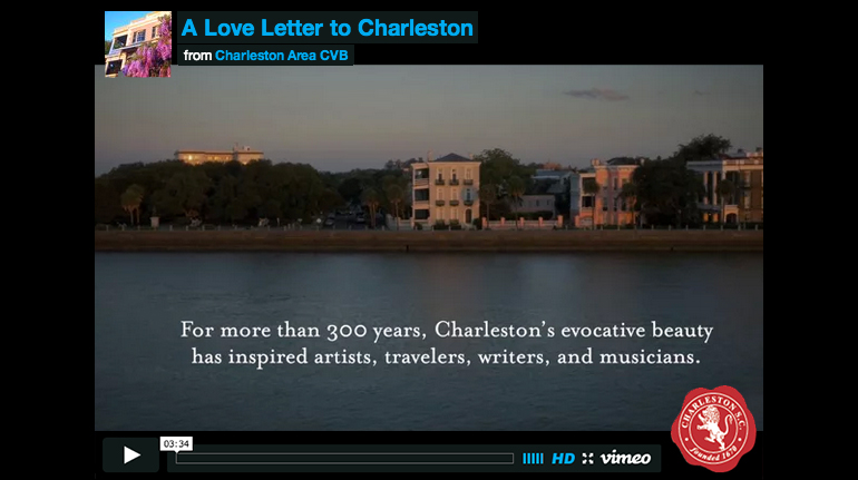 Love Letter to Charleston