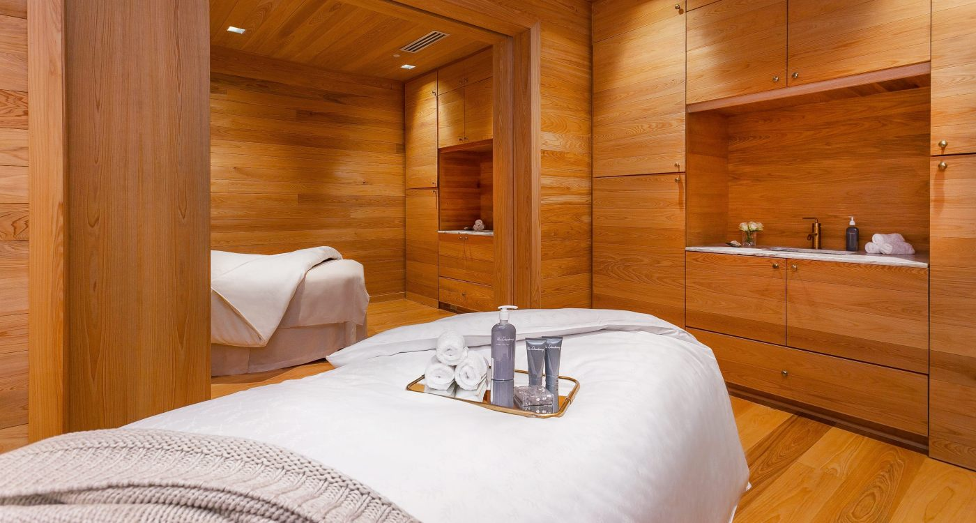 The Dewberry Spa Couples Treatment Room
