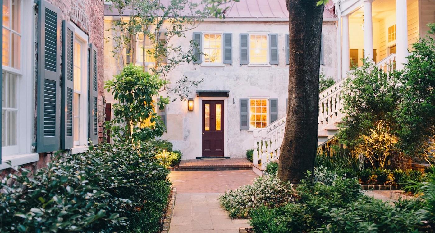 Zero George_ Courtyard_ Explore Charleston1