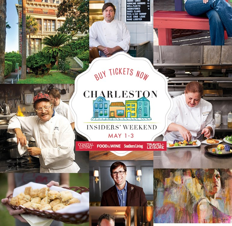 Charleston Insiders' Weekend