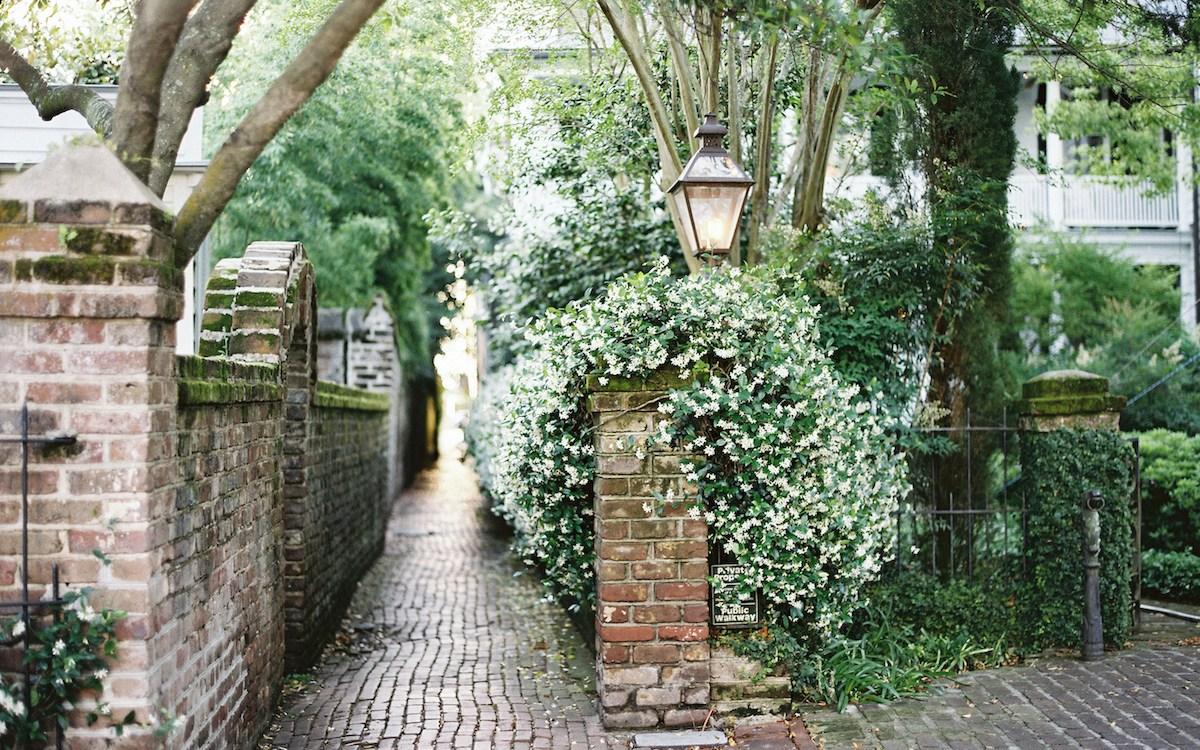 9 Secret Alleyways in Charleston
